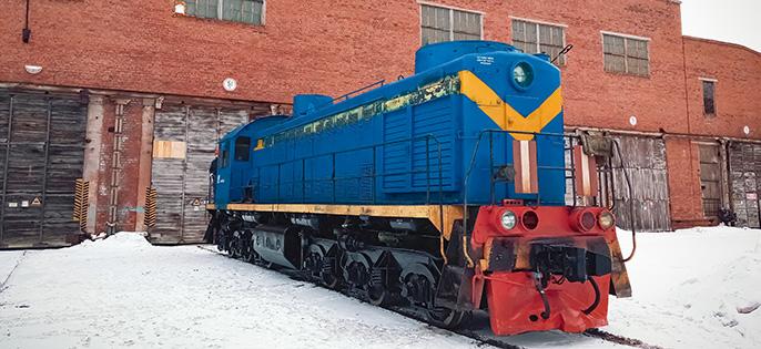 Ремонт локомотивов и тяговых агрегатов